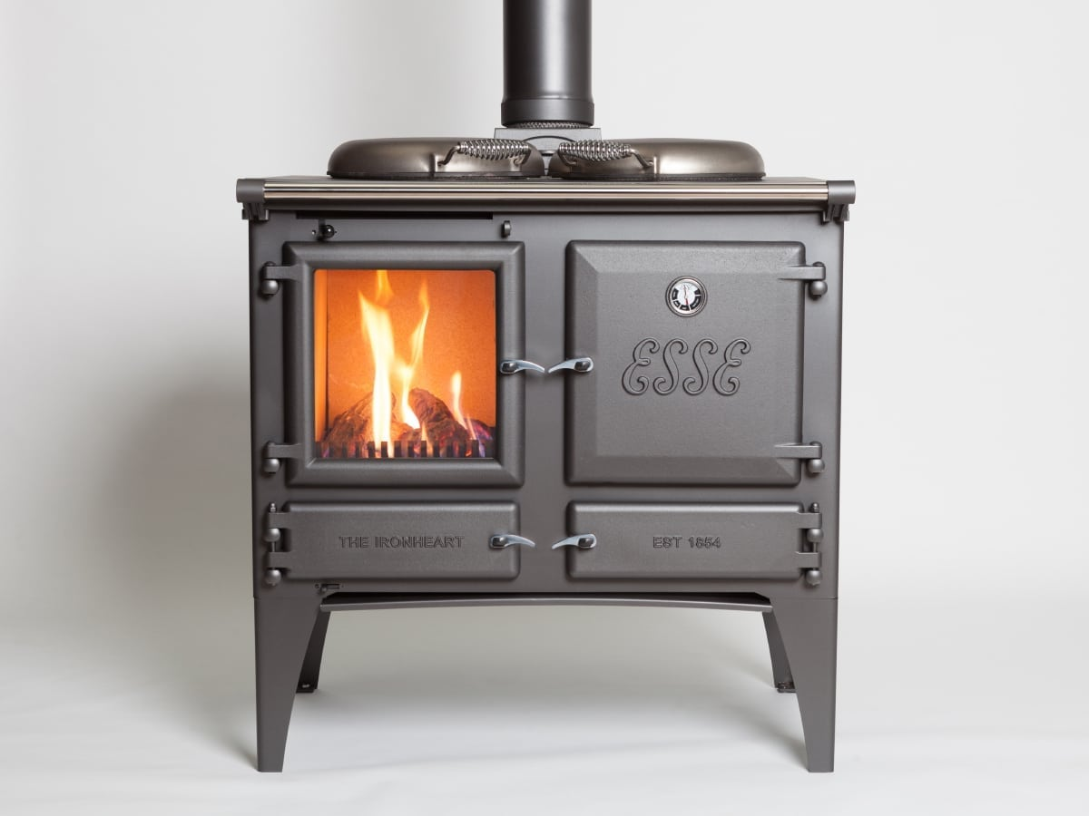 kitchen cook stoves extra large sinks double bowl the esse gas ironheart is a stove and range cooker