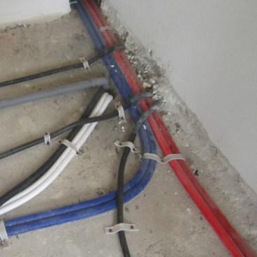 distribuzione elettrica e idraulica civile