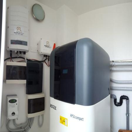 pompa di calore e accumulo fotovoltaico
