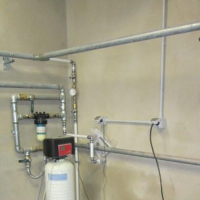 rete idrica con depuratore acqua
