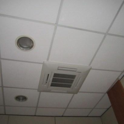 split incasso soffitto