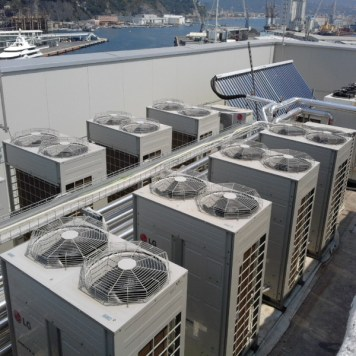 motori impianto clima industriale