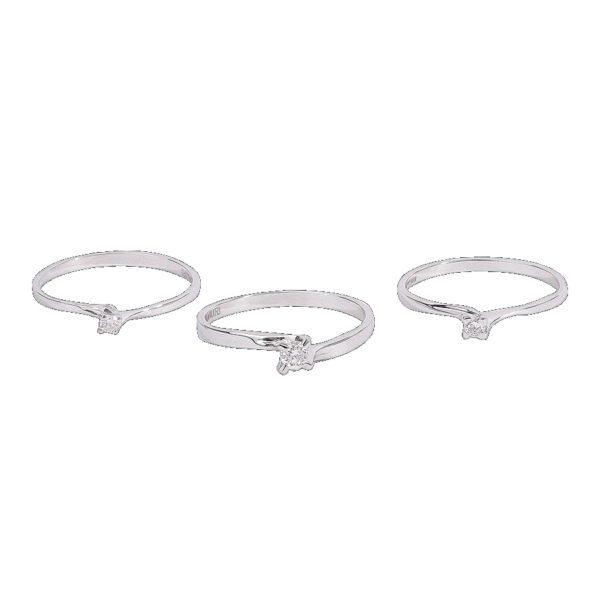 anelli solitario