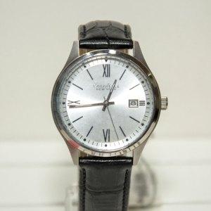 Orologio solo tempo con datario, cinturino pelle 43b143