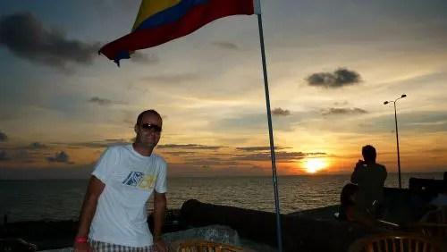 Pôr-do-sol no Café del Mar