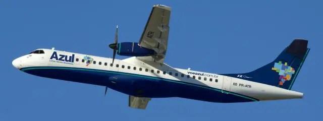 ATR-72 Azul (Divulgação/Azul)