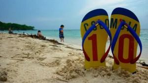 Playa Blanca de Baru - Colômbia (Foto: Esse Mundo É Nosso)