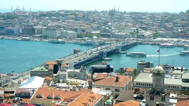 Sultanahmet e arredores visto da Torre de Galata - Istambul (Foto: Esse Mundo É Nosso)
