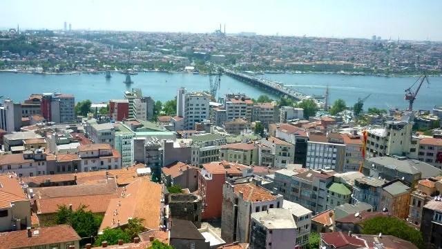 Chifre de Ouro visto da Torre de Galata - Istambul (Foto: Esse Mundo É Nosso)