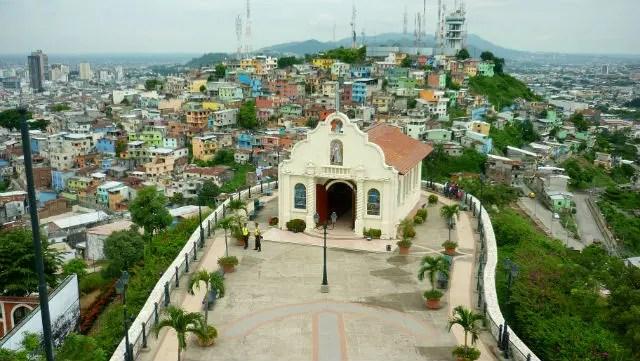 Capilla Santa Ana - Cerro Santa Ana - Guayaquil, Equador (Foto: Esse Mundo É Nosso)