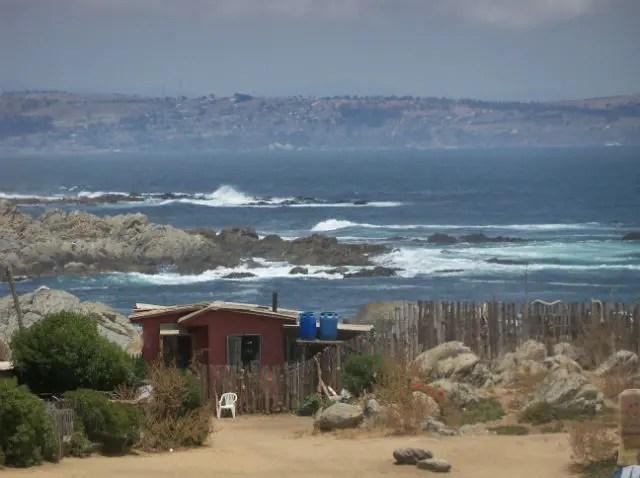 Foto: Vanessa Aguilera (vista da Casa Museo Isla Negra)