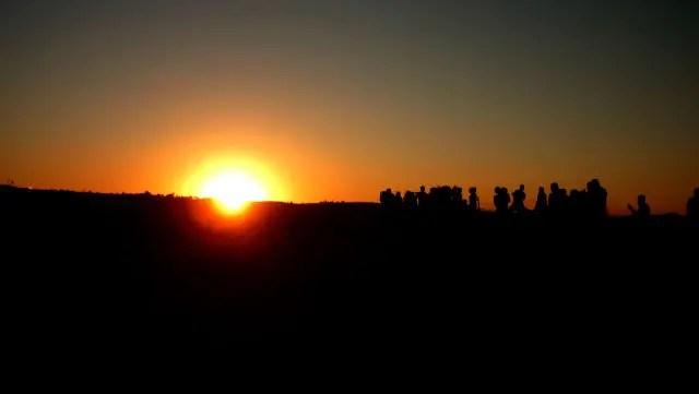 Pôr-do-sol na Capadócia (Foto: Esse Mundo É Nosso)