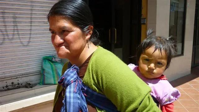 Chola em Cuenca, Equador (Foto: Esse Mundo É Nosso)