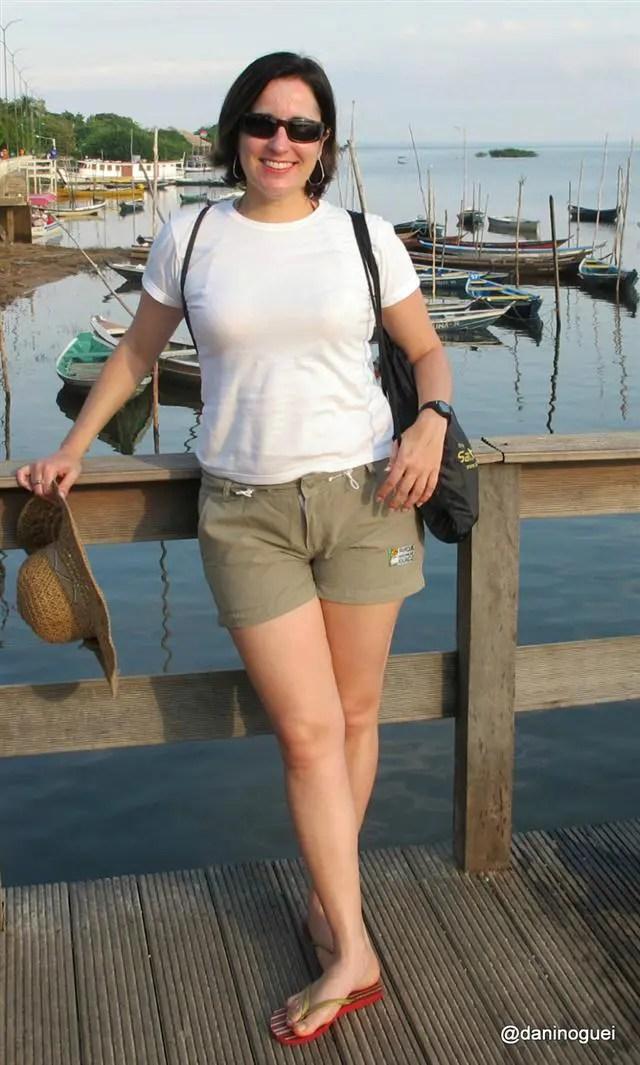 Daniela Nogueira em Alter do Chão: Viajar sozinha também é muito bom!