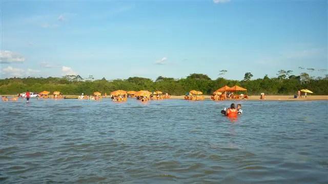 Praia Grande em Boa Vista, Roraima (Foto: Esse Mundo É Nosso)