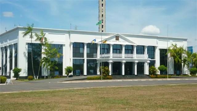 Palácio do Governo em Boa Vista, Roraima (Foto: Esse Mundo É Nosso)