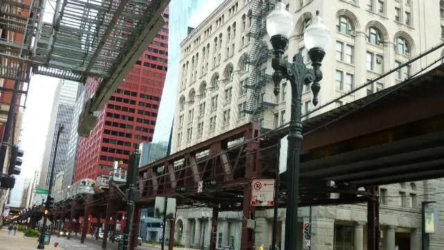 Região do H.I. Chicago Hostel (Foto: Esse Mundo é Nosso)