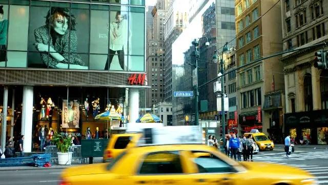 Quinta Avenida em nova York (Foto: Esse Mundo é Nosso)