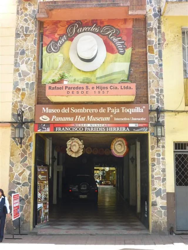 Museu do Chapéu do Panamá - Cuenca, Equador (Foto: Esse Mundo É Nosso)