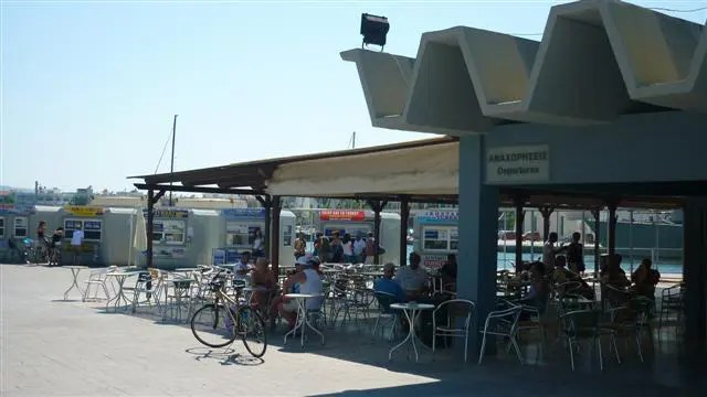 Turquia à Grécia de Barco - Porto de Kos, Grécia (Foto: Esse Mundo É Nosso)