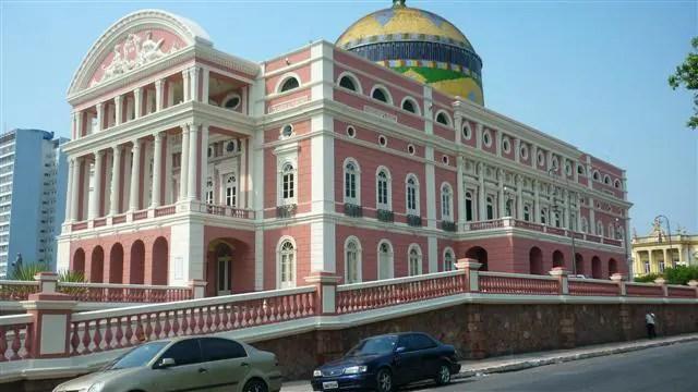 Teatro Amazonas - Manaus. Amazonas (Foto: Esse Mundo É Nosso)