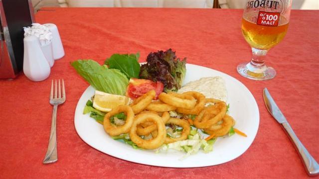 Comida Típica da Turquia - Anéis de lula (Foto: Esse Mundo É Nosso)