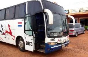 Viajar de ônibus no Paraguai (Foto: Esse Mundo é Nosso)