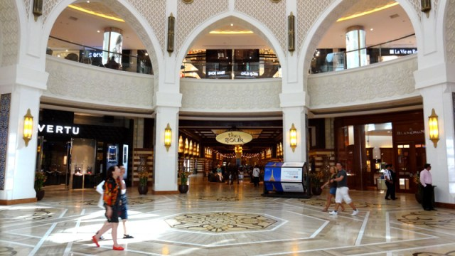 The Dubai Mall e Show de Águas Dançantes de Dubai (Foto: Esse Mundo É Nosso)