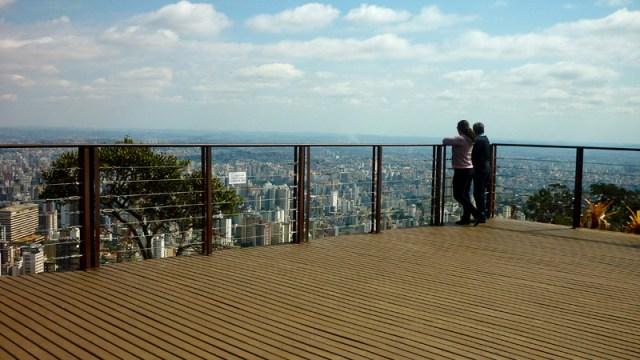 Mirante em Belo Horizonte - Mirante do Mangabeiras (Foto: Esse Mundo É Nosso)