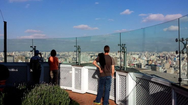 Visita gratuita ao Terraço Itália (Foto: Esse Mundo É Nosso)
