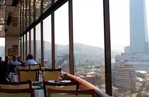 Restaurante Giratório em Santiago (Foto: Esse Mundo é Nosso)
