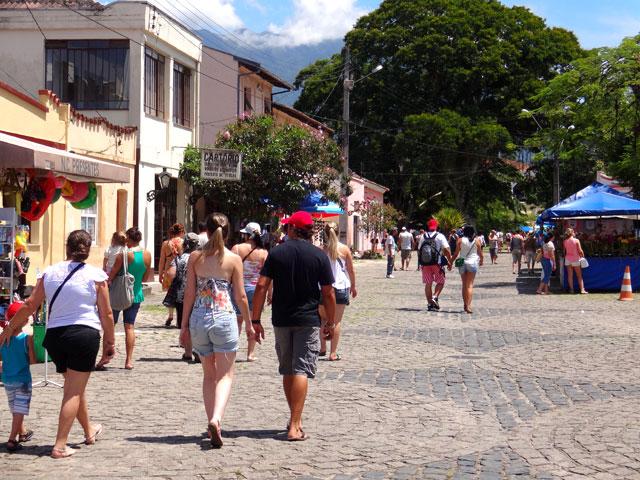 Morretes, destino do passeio de trem em Curitiba (Foto: Esse Mundo É Nosso)