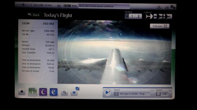 A380 da Emirates, o maior avião do mundo (Foto: Esse Mundo É Nosso)