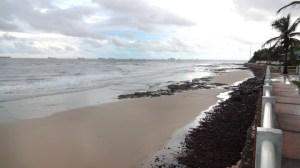Praia Ponta D'Areia, São Luís, e a incrível variação de maré no Maranhão (Foto: Esse Mundo É Nosso)