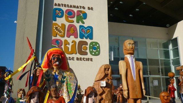 Centro de Artesanato no Centro Histórico de Recife (Foto: Esse Mundo É Nosso)
