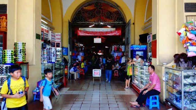 Ben Thanh Market em Ho Chi Minh, Vietnã (Foto: Esse Mundo É Nosso)