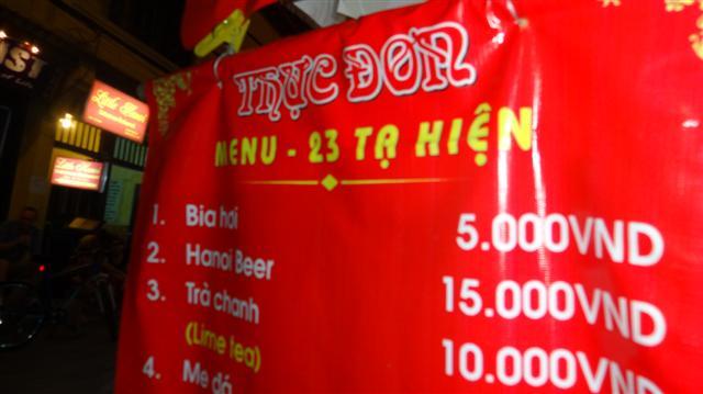 Cerveja mais barata do mundo no Vietnã (Foto: Esse Mundo É Nosso)