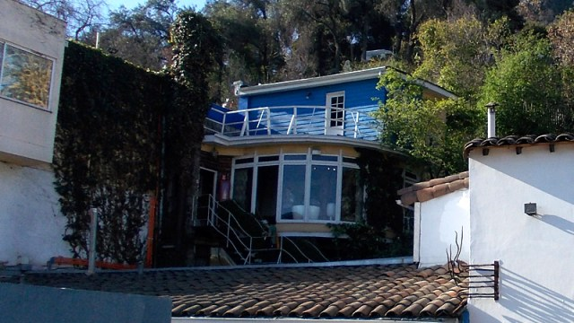 La Chascona - Casa de Pablo Neruda em Santiago (Foto: Esse Mundo é Nosso)