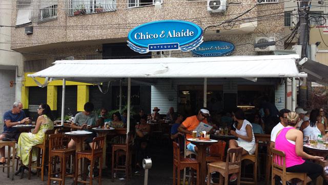 Bolinho da Alaíde - Botequim Chico & Alaíde (Foto: Esse Mundo É Nosso)