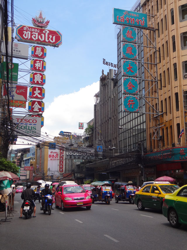 Chinatown de Bangkok (Foto: Esse Mundo É Nosso)