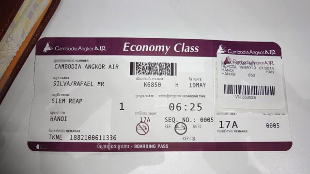Como é voar Cambodia Angkor Air (Foto: Esse Mundo É Nosso)