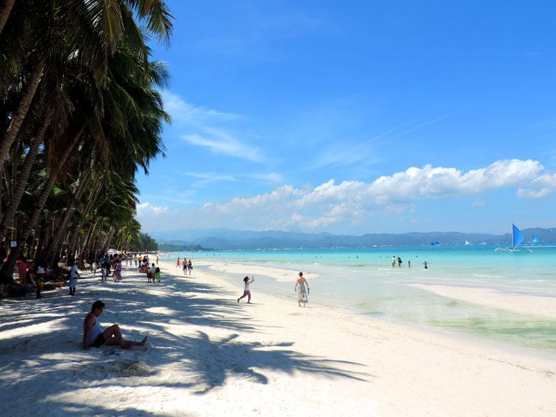 Como escolher um hotel em Boracay: Boat Station 2 (Foto: Esse Mundo É Nosso)