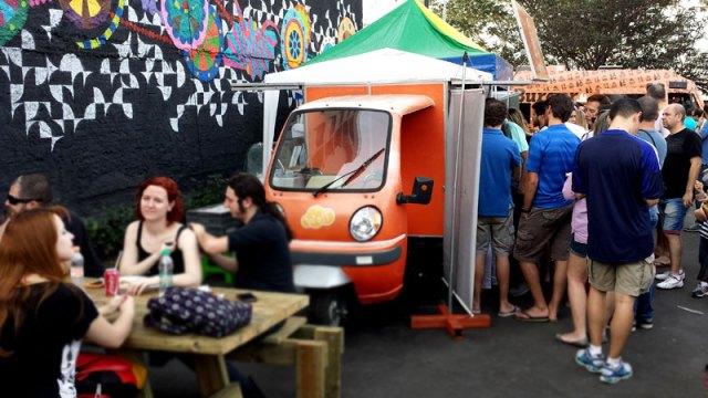 Butantã Food Park, São Paulo (Foto: Esse Mundo É Nosso)