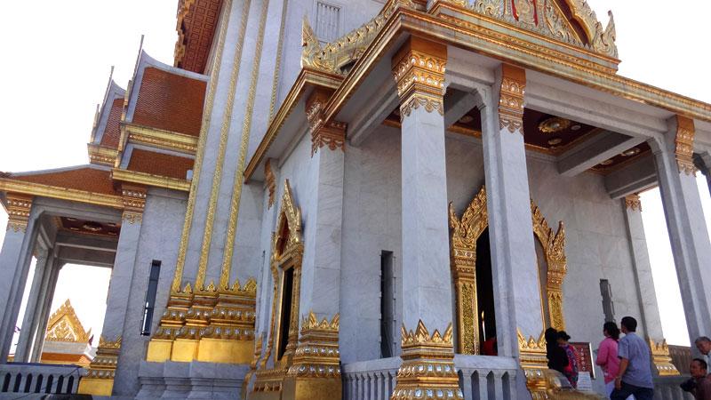 Turismo em Bangkok: Wat Traimitn (Foto: Esse Mundo É Nosso)