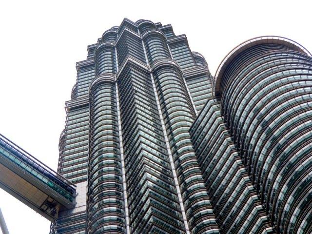 Torres Petronas - Kuala Lumpur, Malásia (Foto: Esse Mundo É Nosso)
