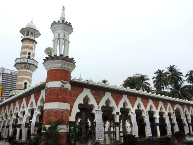 O que fazer em Kuala Lumpur: Masjid Jamek (Foto: Esse Mundo É Nosso)