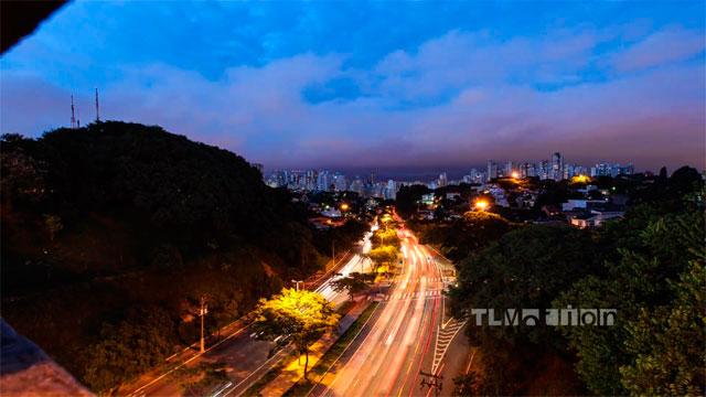 São Paulo em timelapse - TL Motion