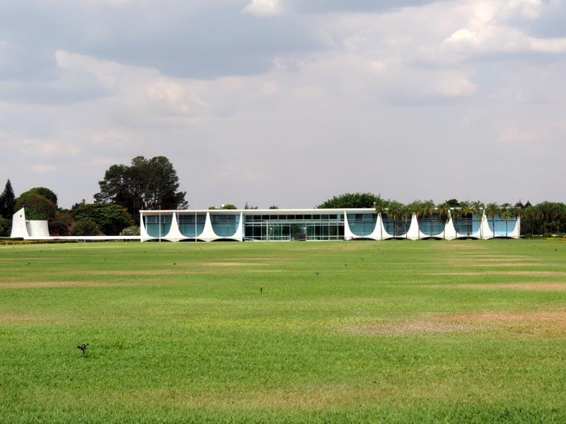 O que fazer em Brasília - Palácio da Alvorada (Foto: Esse Mundo É Nosso)