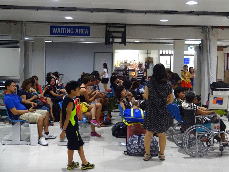 Aeroporto de Manila, Filipinas (Foto: Esse Mundo É Nosso)