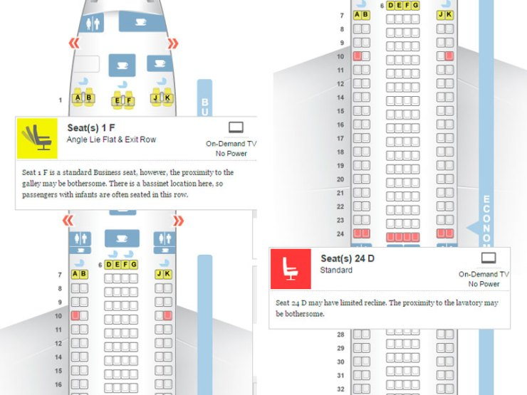Seat Guru: Como escolher os melhores assentos no avião